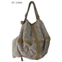 Stylish,casual lady's leather handbag HY-3386#