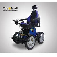 TOPMEDI TEW001 Stairs Climbing Beach Electric Wheelchair