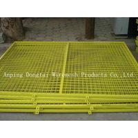 High Quality PVC Coated Frame Wire Mesh Fence