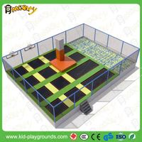 commercial cheap large trampoline for Jumping zone