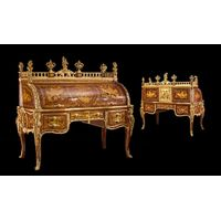 "Bureau Du Roi ( Secrétaire Cylindre de Louis XV), ""The King Desk"""