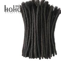 Afro kinky human hair crochet dreadlocks thumbnail image