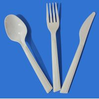Western style new heavy weight (5.5g) PS cutlery-184mm long