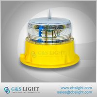 Beacon Light 4NM Solar LED Marine Lantern IP68 LED Solar Marine Light IALA Standard