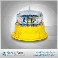 Beacon Light 4NM Solar LED Marine Lantern IP68 LED Solar Marine Light IALA Standard