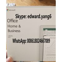 office 2019 home and business Genuine /Original License Key office 2019 Code COA Sticker & DVD& seal