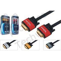 Multimedia cable DVI male-DVI male cable thumbnail image