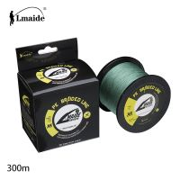 300 m Wholesale price Super Strong fishing line PE braided wire 4x braided fishing line 15lb - 90lb thumbnail image