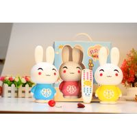 Factory supply cartoon rabbit remote story machine Q6