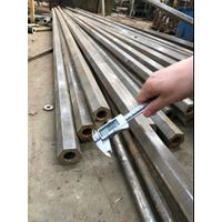 cold drawn shaped pipe outer diameter hexagon and inner diameter round