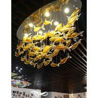 Hotel Decorative Ceiling Murano Lighting fixture