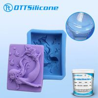 addition cure silicone rubber for soap mold