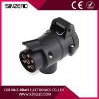 trailer plug adapter pin round/car adapter socket/quality trailer plug thumbnail image