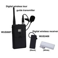 2014 New style digital wireless receiver portable audio tour guid system