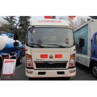 sinotruck refrigerator truck