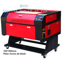 Redsail laser engraver M900 for engrave on cylindre