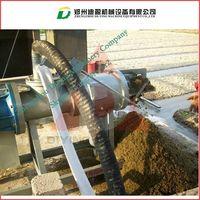 large capacity chicken manure dewatering machine/chicken manure dehydrator