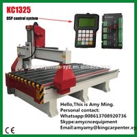 cutting engraving machine 3 axis 4x8 ft cnc router machine KC1325 king cut cnc machine