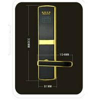RFID Keyless ID/IC Card Hotel Door Lock with access control software hotel door lock system price thumbnail image
