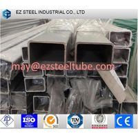 Galvanized Welded Rectangular / Square Steel Pipe / Tube / Hollow Section / Shs, Rhs