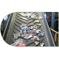 wavy top rubber conveyor belt