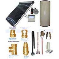 split solar heating system