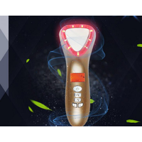2019 New Portable face lifting red light photon machine ultrasonic photon facial massager thumbnail image