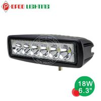 "Top Hot 6.3"" Offroad 4x4 Tractor 18W Led Work Light"