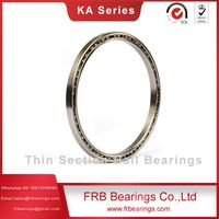 Stainless steel slim bearings-Four-point contact ball bearings SA Series
