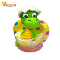 """Coin Operated Dinosaur Kiddie Ride Rocking Game Machine with 12"""" LCD thumbnail image"""