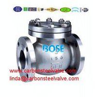 A890 Grade 4A/5A/6A flanged check valve