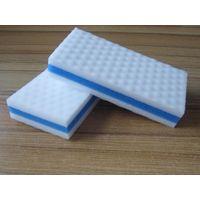 High density compressed melamine foam magic eraser melamine sponge composite foam thumbnail image
