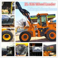 ZL36, 3ton wheel loader, popular in Canadian market