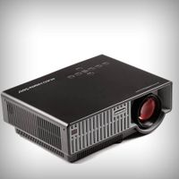 Newest Barcomax PRW310 HD portable home theater projector 200W LED lamp native 1280x800P 2800Lms wit