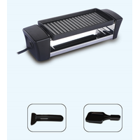 Raclette cheese melting grills