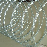High Quality cheap razor blade concertina barbed wire made in china