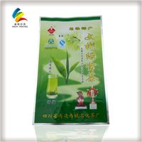 Aluminum Foil Material and sachet Use 3  side seal bags with tear notches for coffee tea snack food thumbnail image