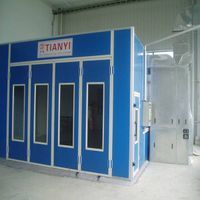 Tianyi factory ce approved spray booth/paint booth drying oven/spray booth paint oven