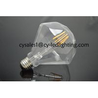 Pyramid liquid filament led bulb 85-265V beautiful decorate led bulb