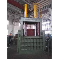 Vertical Downstroke Scrap Metal Press Machine Compactor