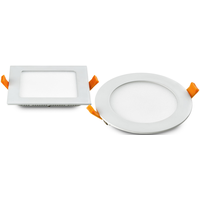 led panel light 18W Round/Square