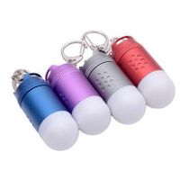 High-power LED missile camping tent camp lamp Aluminum mini flashlight key lights emergency lighting