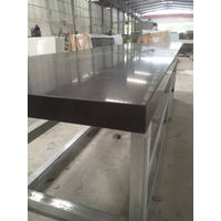 China Black Color Quartz Stone Polished Solid Surface