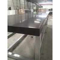 China Black Color Quartz Stone Polished Solid Surface