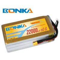 Bonka-22000mah-3S1P-25C muticopter lipo battery