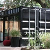 Living luxury container house