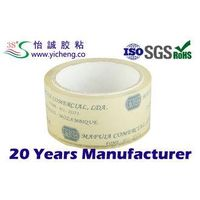 sealing BOPP crystal clear tape of water based acrylic adhesive