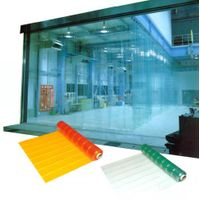 Flexible PVC strip curtain and soft sheet thumbnail image