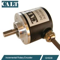 6mm shaft incremental rotary encoder push-pull output