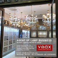Zhongshan Guzhen norbic pendant lamp buying agent in China Guzhen lighting market thumbnail image